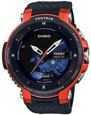 Casio Wrist Watch Protrek Smart Outdoor GPS WSD-F30-RG 18/Jan/2019 on Sale F/S