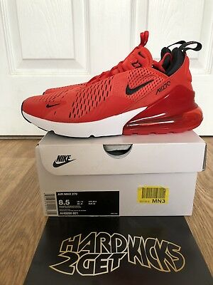 best sneakers 2029f 499e6 NIKE AIR MAX 270 Habanero Red Rough Hot Punch( GS) 943345-600 UK ...