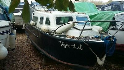 Norman 23 ft Canal Boat