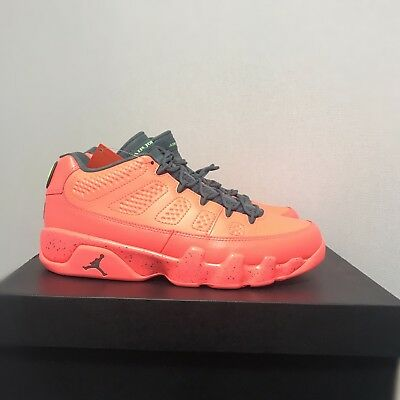 timeless design 0b660 9dfca Air Jordan 9 Retro Low Shoes 832822-805 Bright Mango Size 8-10 Limited