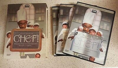 Chef - Complete Collection Series 1-3 DVD, 3-Disc Set. RARE OOP! Lenny Henry!