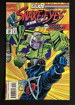 GI Joe #140 Transformers Marvel