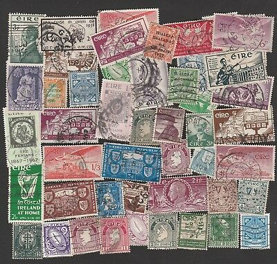 IRELAND 1922-1970s SELECTION OF STAMPS INCLUDING AIRMAILS (45)