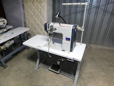Mauser Spezial 591 Industrial Sewing Machine and Power Stand