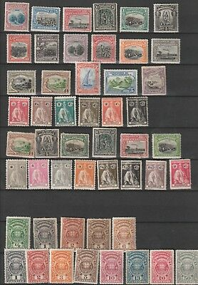 Portuguese Mozambique (company) lot MH/used stamps 2 scans