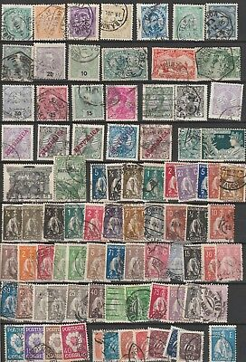 Portugal lot used classic stamps 2 scans