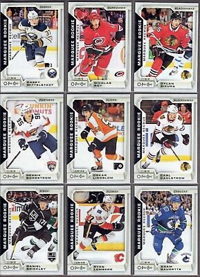 2018-19 O-Pee-Chee MARQUEE ROOKIE **PICK FROM LIST** Pack Fresh RCs