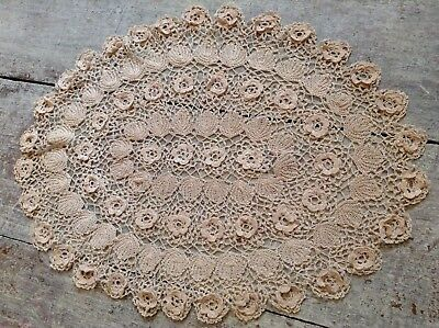Vintage Hand crocheted doilie