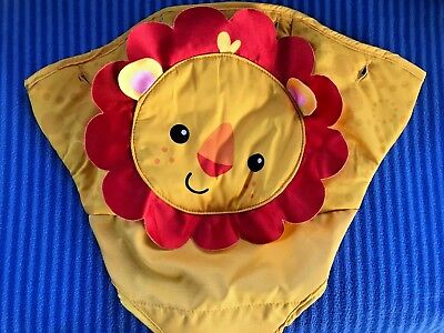 Fisher Price Rainforest Friends Jumperoo Lion Seat Cover  Replacement Part