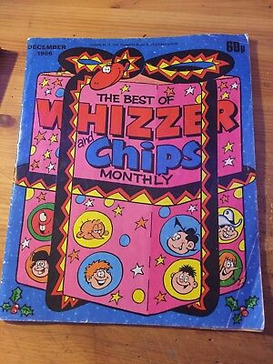 The Best Of Whizzer And Chips Monthly December 1986