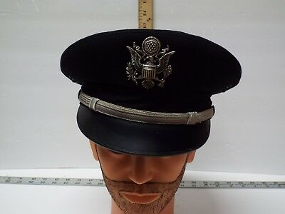 Vintage Hat Bancroft Made USA Collectible Genuine Dress US Air Force  Military 5ba6d17f132d