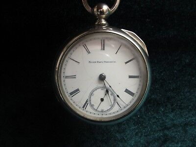 Pocket Watch FOB, FACE, ELGIN NAT WATCH CO, MOVEMENT,
