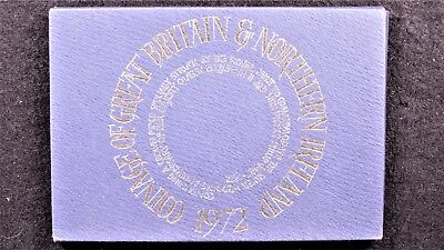 1972 Coinage Of Great Britain And Northern Ireland sealed case from royal mint.