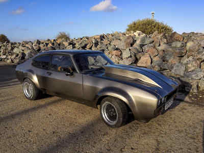 1983 Ford Capri Custom V8 Widebody - Complete Rebuild
