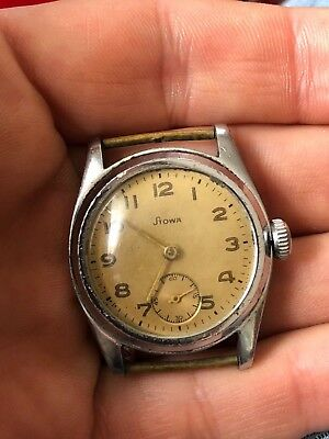 Watch stowa military very old vintage