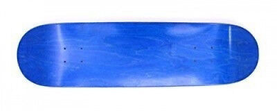 (7.75) - Moose Skateboard Blank Deck stained blue. Free Delivery