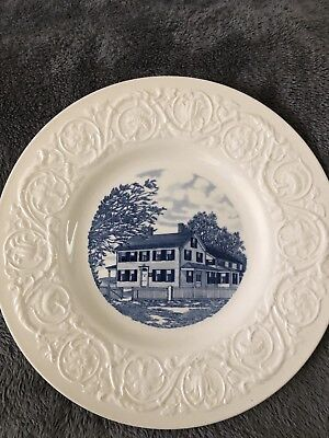 Wedgewood Collectible Northfield School for Girls Mass. Dwight L.Moody Founder