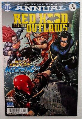 DC Red Hood and the Outlaws #1 Annual (2016) 8.0 VF