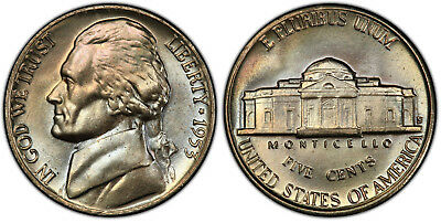 1953-D Jefferson Nickel Choice Uncirculated Fabulous Quality