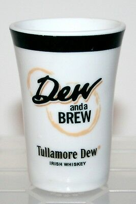 Dew And A Brew Tullamore Dew Irish Whiskey Shot Glass