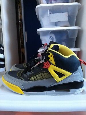 brand new 8b7ff 2d159 jordans spizike yellow red and black