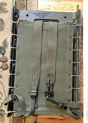 WW2 US Army USMC Pack Board Complete Beautiful Condition Near Mint Dated WWII