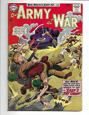 Our Army at War #143 (1964) - Check Scans, Good Condition!!!