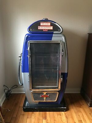 Red Bull Gas Pump Shaped Commercial Mini Fridge (used) Great Condition