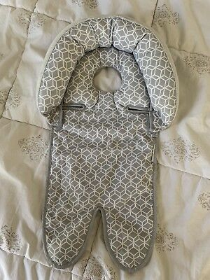 Boppy Newborn Baby Head Support Gray Reversible