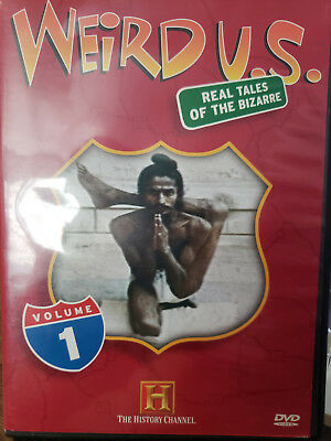 Weird Us Volume 1 (Dvd) Real Tales Of The Bizarre / Aso History Channel
