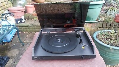 NAD 5120 Turntable with Audio Technica Cartridge - Tested and Working NO RESERVE