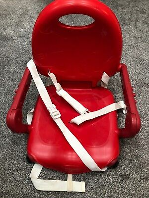 Chicco Pocket Seat Booster Seat in RED