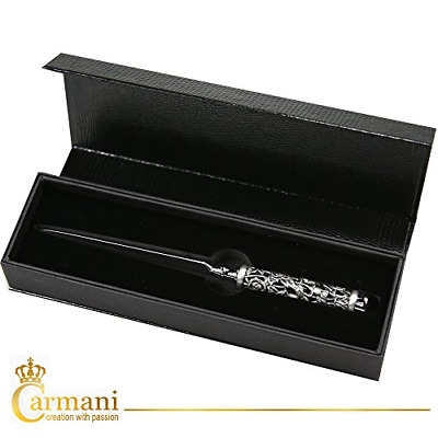 CARMANI - Letter opener with 3D metal Rose pattern