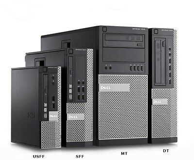 Dell Optiplex 7010 SFF USFF DT Desktop Business PC i7 i5 i3 SSD HDD Win 10 Pro