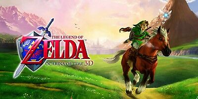 The Legend of Zelda Ocarina of Time 3D for Nintendo 3DS FREE SHIPPING
