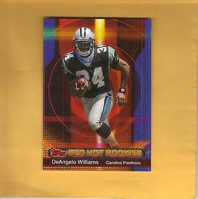 2006 Topps Red Hot Rookies DeAngelo Williams #11 MINT