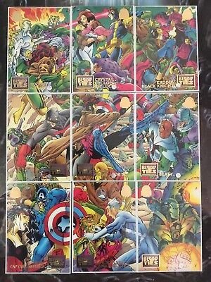 Marvel Universe Trading Cards BLOOD TIES Full Set Of 9