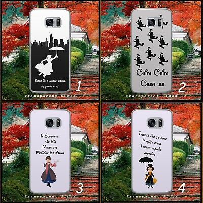 Disney/Mary Poppins/Duck Umbrella/Hard Phone Case/Cover/Shell For Samsung/Huawei