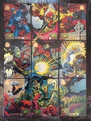 Marvel Universe Trading Cards MAXIMUM CARNAGE Full Set Of 9