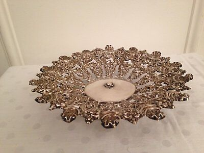 800 Silber WIENER OBSTSCHALE aus 1844 - 800 SILVER VIENNESE FRUIT BOWL from 1844