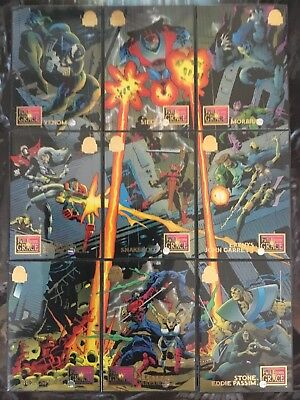 Marvel Universe Trading Cards FALL FROM GRACE Full Set Of 9