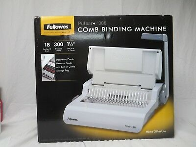 Fellowes Pulsar+ 300 Manual Comb Binding Machine New