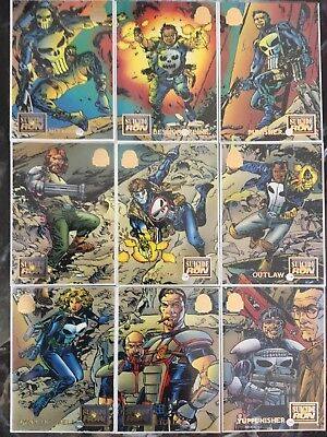 Marvel Universe Trading Cards SUICIDE RUN Full Set Of 9