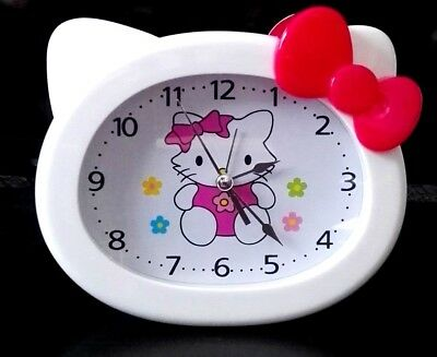 Reloj despertador Hello kitty niña