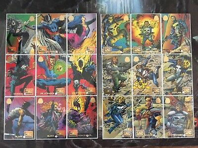 Marvel Universe Trading Cards SIEGE OF DARKNESS SUICIDE RUN Full Sets Lot x2