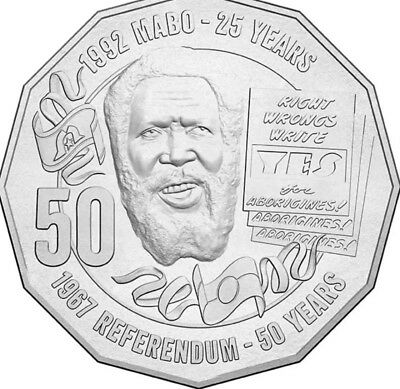 2017 Eddy Mabo - Pride & Passion .50c From Mint Bag Rare!  Only 1.4 mil. Minted