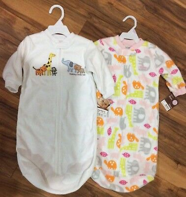 NWT Carter's 0-9 months baby sleep sack sleeping bag blanket sleeper.