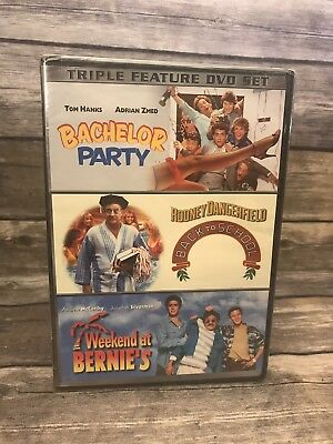 Bachelor Party / Back to School / Weekend At Bernie's (Triple Feature DVD Set)