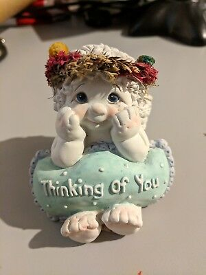 """Dreamsicles """"Love-Notes Thinking of You"""" Figurine #10676"""
