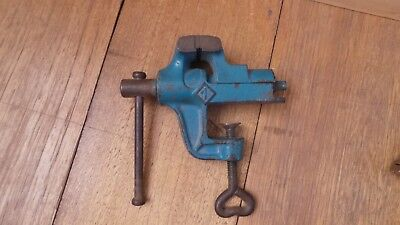 Vintage Jewellers Vice Vise Cast Iron May Suit Dawn Record